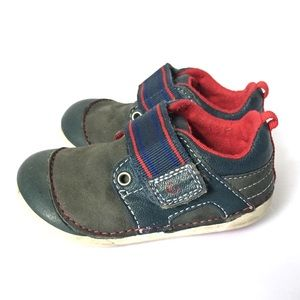 Stride Rite Baby Shoes Leather Cameron Strap